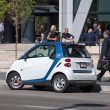 Car2go rental — Stock Photo
