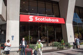 Scotiabank branch — Stock Photo