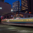 Stock Photo: Calgary transit C-train