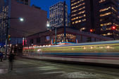 Calgary transit C-train — Stock Photo