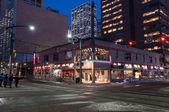Calgary street scence — Stock Photo