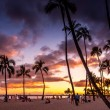 Постер, плакат: Waikiki Beach at the Hawaiian Hilton Village