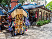 Rainbow bazaar på hilton hawaiian village — Stockfoto