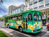 Hilo hattie bus — Stockfoto