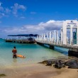 Port Hilton Pier at the Hilton Hawaiian Village — Stock Photo #46243493
