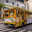 Waikiki Trolley bus — Stock Photo #46243589