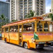 Waikiki Trolley — Stock Photo #46243599