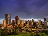 Calgary skyline — 图库照片