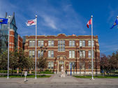 SAIT Polytechnic school buildings — Foto Stock