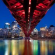 Pedestrian bridge, Calgary — Stock Photo #51315297