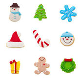 Christmas cookie set — Stock Photo