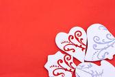 Carte de voeux de bonbons — Photo