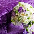 Bouquet of wedding flowers — Stock Photo