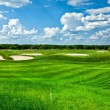 Golf Club Landscape - Stock Photo