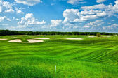 Golf-club-landschaft — Stockfoto