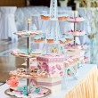Stock Photo: Nice wedding cakes