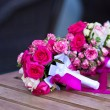 Stock Photo: Bouquet of wedding flowers