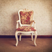 Old Styled chair in Interior — Stock Photo