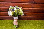 Boeket van mooie bruiloft bloemen — Stockfoto