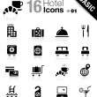 Basic - Hotel icons — Stock Vector #14967753