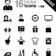 Basic - hotel icons — Stock Vector #14967789