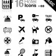 Stock Vector: Basic - Hotel icons