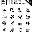 Basic - Hotel icons — Stock Vector