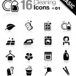 Stock Vector: Basic - Cleaning Icons