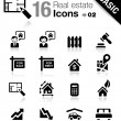 Basic - Real estate icons - Stock Vector