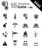 Basic - Weather Icons — Stock Vector