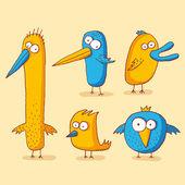 怪鸟 — 图库矢量图片