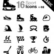 Stock Vector: Basic - Sport icons