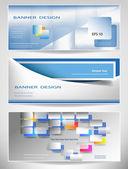 Banner design — Stock Vector