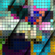 Royalty-Free Stock Vector Image: Colorful abstract mosaic background