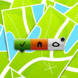 Location buttons — Image vectorielle