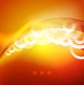 Glänzend energie abstrakt — Stockvektor