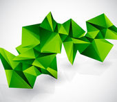 Abstrakten bunten geometrischen vektor hintergrund — Stockvektor