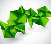 Vettore geometrico colorato astratto sfondo — Vettoriale Stock