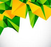 Streszczenie wektor geometrycznej kolorowy — Wektor stockowy