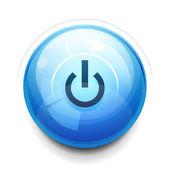 Power button — Stock Vector