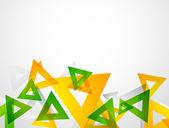 Geometryczne kolorowy streszczenie tło — Wektor stockowy