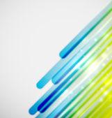 Lignes de couleur fond de vecteur — Vecteur