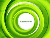 Business ecology swirl concept — Stockvector