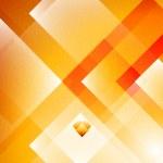 Geometric Orange background — Stock Vector