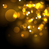 Zlatá slavnostní abstraktní vektorové pozadí — Stock vektor