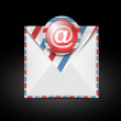 Email vector icon - Stok Vektr