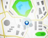 City map design — Stock Vector