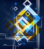 现代抽象几何设计 — 图库矢量图片