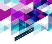 современное геометрические абстрактный шаблон — Cтоковый вектор