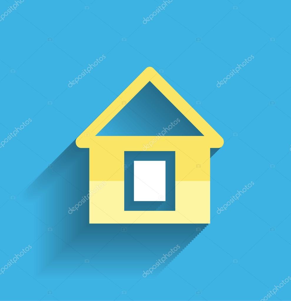 House icon vector modern flat design — Stock Vector © akomov #29112145 - ^